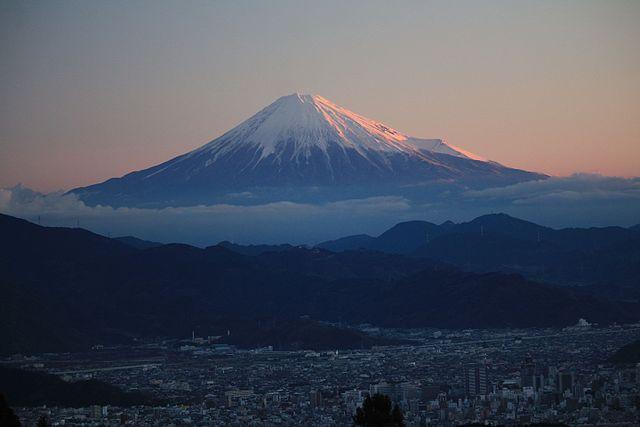 富士山を観る絶景スポットがたくさん