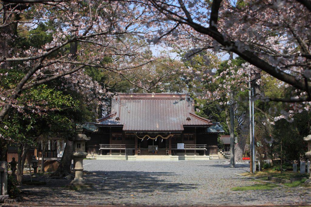 1600年以上の歴史を持つ焼津神社